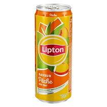 Lipton Ice tea pêche - carton de 24 canettes 33 cl