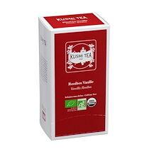 Kusmi tea Infusion Rooibos vanille Bio Kusmi Tea - Boîte de 25 sachets biodégradables