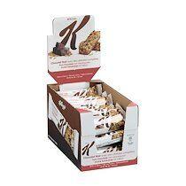 Kellogs Barre de céréales Spécial K aux pépites de chocolat - 22g - Lot de 30