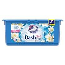 Dash Lessive Pods Dash 2 en 1 Fleur de lotus - 29 doses