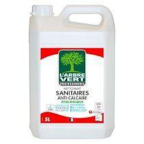 Arbre vert Nettoyant anti-calcaire sanitaire L'Arbre Vert – Bidon de 5 L