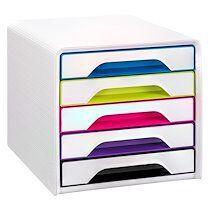 Cep Module de classement Cep Smoove Arctic 5 tiroirs - multicolore