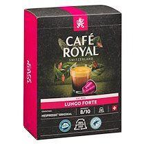 Café royal Pack 2 boîtes de 36 capsules Café Royal Lungo Forte + 1 offerte