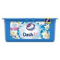 Dash Pack 2 + 1 Lessive Pods Dash 2 en 1 Fleur de lotus - 29 doses