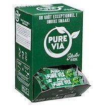 Pure Edulcorant Stevia Pure Via - Boîte distributrice de 300 sticks