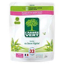 Arbre vert Lessive liquide L'Arbre Vert au savon végétal - Recharge 1,5 litres