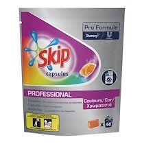 Skip Lessive Skip professional capsules textiles couleurs - 46 doses