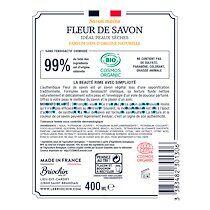 Briochin Savon gel lavant mains Briochin Bio - Miel et citron - Flacon à pompe de 400 ml