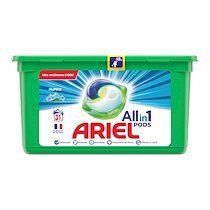 Ariel Lessive Pods Ariel 3 en1 Alpine – 31 doses