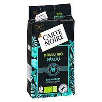 Carte noire Café moulu Carte Noire Bio Sélection Pérou - Paquet de 250 g