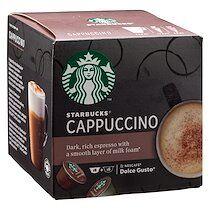 Starbucks Capsules de café Starbucks Dolce Gusto Cappucino - Boîte de 24
