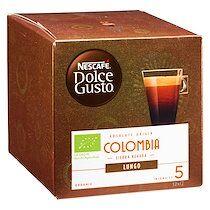 Nescafe Capsules de café Nescafé Dolce Gusto Columbia Bio - Boîte de 24