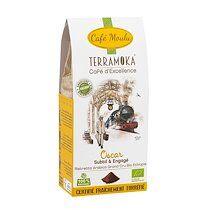 Terramoka Café moulu Terramoka Oscar Bio - Paquet de 250 g