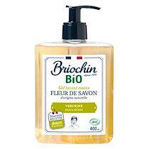 Briochin Savon gel lavant mains Briochin Bio - Verveine - Flacon de 400 ml