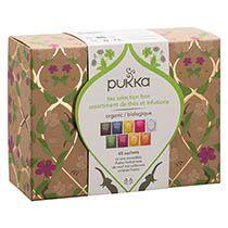Pukka Thés et infusions Sélection Bio Pukka - Coffret de 45 sachets biodégradables