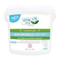 Action verte Tablettes lave-vaisselle Action Verte professionnels - 160 doses