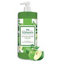 Flacon à pompe 500 ml de Savon liquide doux à la glycérine parfum Pomme - Lot de 3