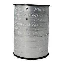 Bolduc bobine plaisir d'offrir 225mx10mm, Or - Or - Lot de 2