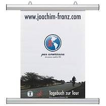 Franken Profilé clipsable pour affiche, aluminium, argent