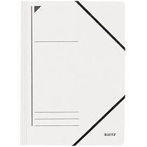 Leitz Chemise à élastique, format A4, carton, rouge - Lot de 6