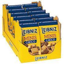Biscuits au beurre Minis Choco, sachet de 125 g