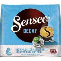 Senseo Dosette de café 'DECAF' - décaféiné, paquet de 16 - Lot de 4