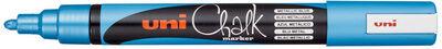 Uni-ball Marqueur craie Chalk PWE-5M, rouge - Lot de 9