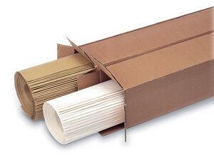 Papier pour tableau de présentation, marron - Lot de 2