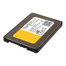 "StarTech.com Adaptateur carte CFast vers SATA avec boîtier de 2,5"" - Convertisseur carte mémoire CFast - SATA III 6 Gb/s - contrôleur de stockage - CFast Card - SATA 6Gb/s"