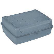 Keeeper Boîte à tartine 'luca' Click-Box, midi, transparent - Lot de 9