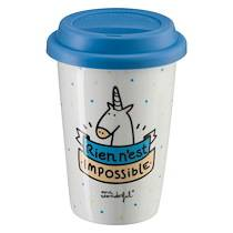 Mr wonderful Mug à emporter Mr. Wonderful 'Rien n'est impossible'