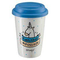 Mr wonderful Mug à emporter Mr. Wonderful 'Rien n'est impossible'