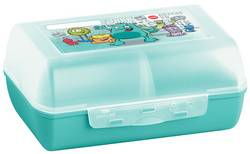 Emsa Boîte à tartine VARIABOLO Clipbox, motif: monstre - Lot de 5