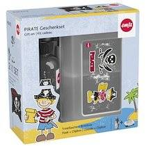 Emsa KIDS Kit gourde  boîte à goûter, motif: pirate