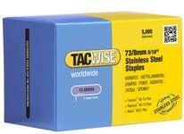 Tacwise Agrafes 73/8 mm, acier inoxydable, 5.000 pièces