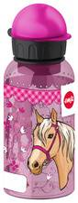 Emsa Gourde KIDS, 0,4 litre, motif: cheval - Lot de 2