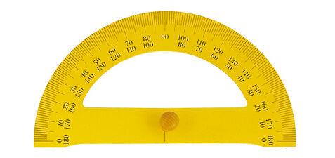 Wonday Rapporteur demi-cercle pour tableau, 180 degrés - Lot de 3