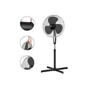 Ventilateur sur pied VL 3741 S, diamètre: 400 mm - Publicité