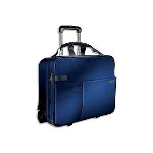 Leitz Trolley cabine 2 roues Bleu 60590069 - Publicité