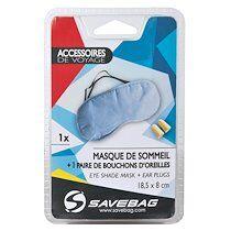 Savebag Masque de sommeil en coton