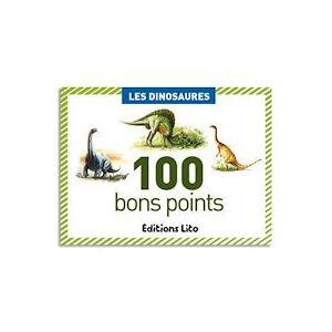 Lito diffusion Boîte de 100 bons points les dinosaures - Lot de 3 - Publicité