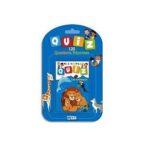 Lito diffusion Jeu de cartes Quizz 120 questions réponses thème animaux - Lot de 4 - Publicité