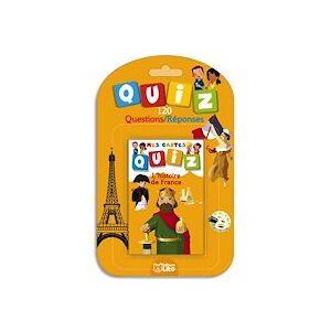 Lito diffusion Jeu de cartes Quizz 120 questions réponses thème L'histoire de France - Lot de 4 - Publicité
