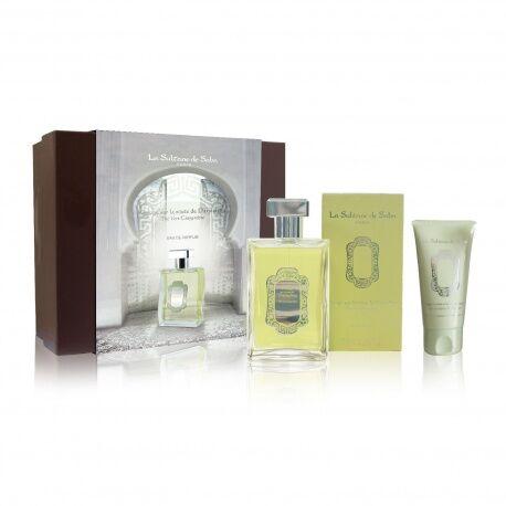 La Sultane de Saba - Coffret Parfum Thé Vert Gingembre + Crème Mains