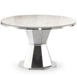 MENZZO Table ronde Yvone Marbre - Publicité
