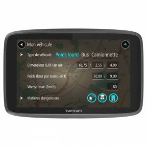 TomTom Gps Camion Tomtom Go Professional 6250 Europe 49 Pays - Publicité