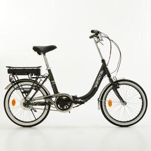 """Norauto Vélo Électrique Pliant Wayscral Takeaway E50 20"""" Noir - Publicité"""