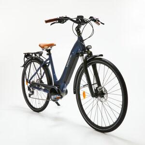 """Norauto Vélo De Ville Électrique Wayscral Everyway E450 T53 28"""" Bleu - Publicité"""