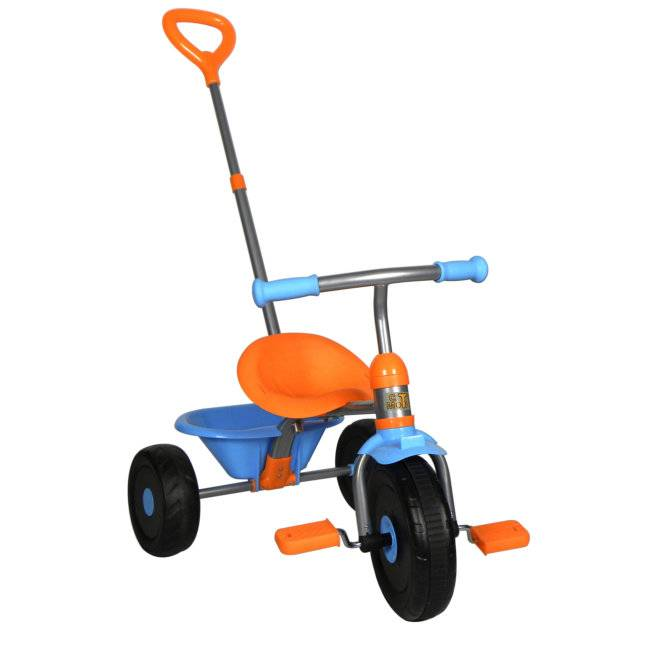 Norauto Tricycle Templar Kiddy Bleu Et Orange