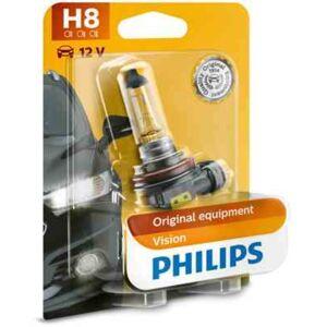 Philips 1 Ampoule Philips H8 Vision 35 W 12 V - Publicité